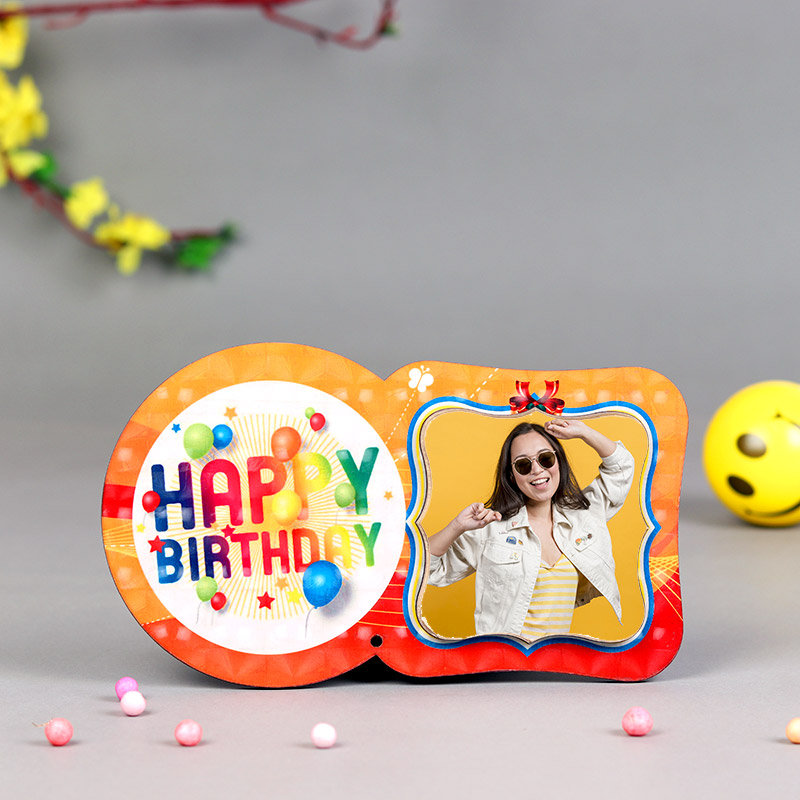 Happy Birthday Tabletop Photo Frame