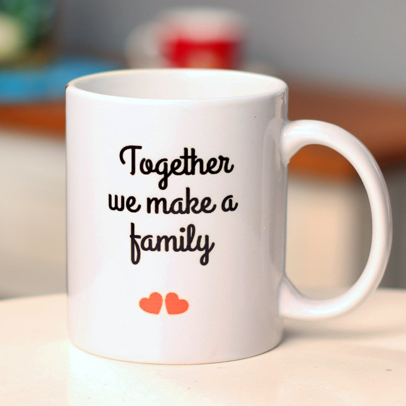 Together Us Family Fathers Day Mugs