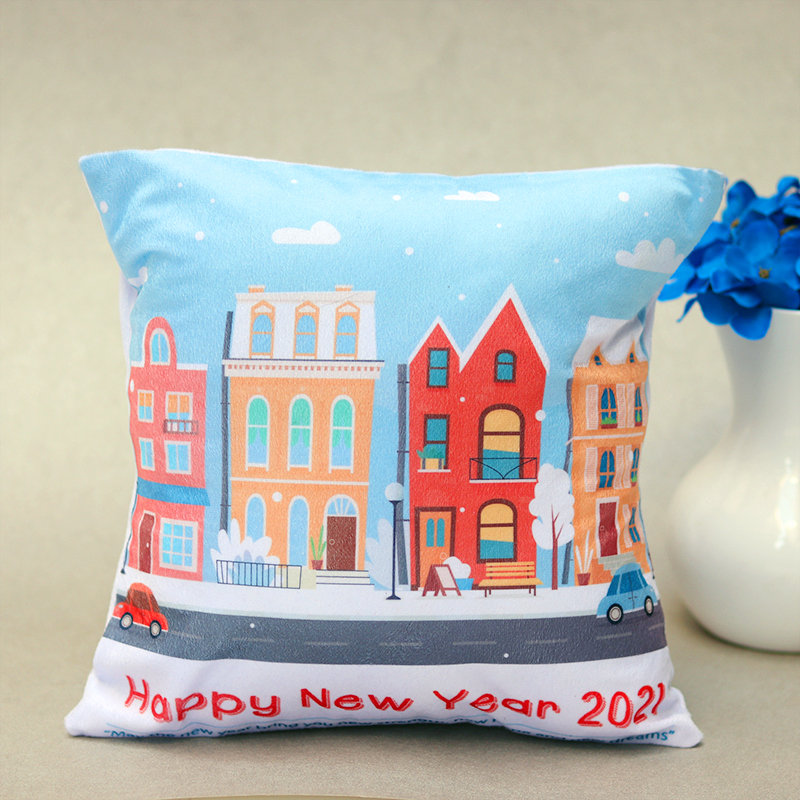 Happy New Year Cushion 2021