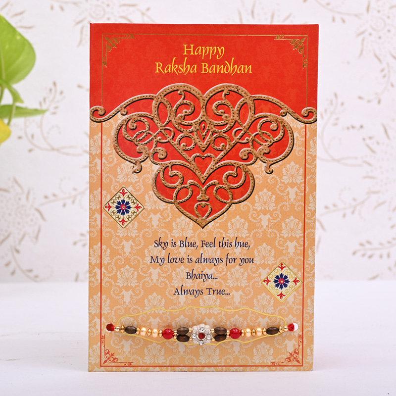 Happy Rakhi Card Combo