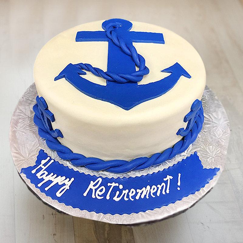 A Retirement Fondant Cake