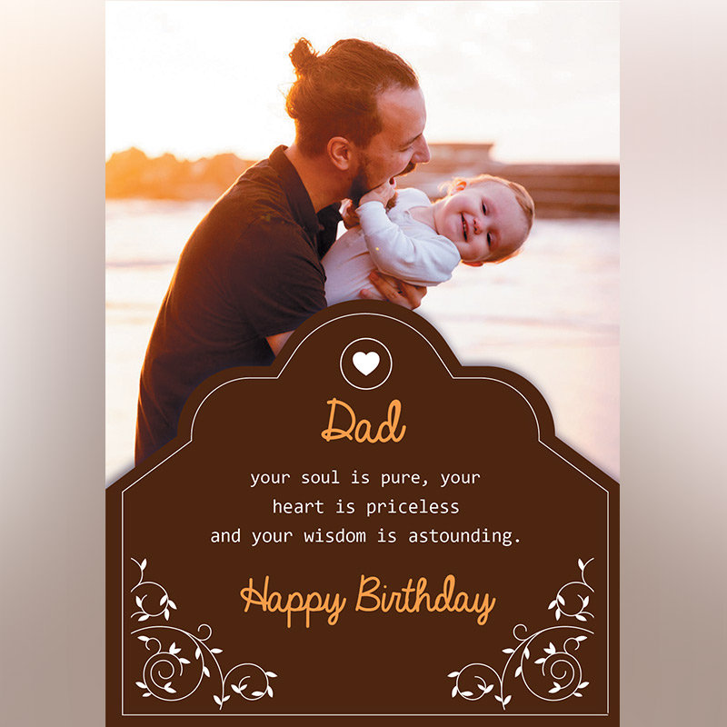 Photo E-Cards For Dad's Birthday