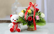 Flowers and Soft Toys