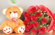 Flower and Teddy