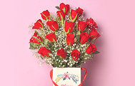 Women's Day Red Roses