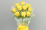 Women's Day Yellow Roses