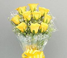 Valentine's Yellow Roses