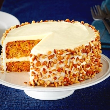 Healthy Carrot Delectable - Carrot Cake