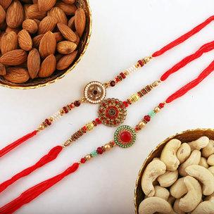 Healthy Nutty Rakhi Combo