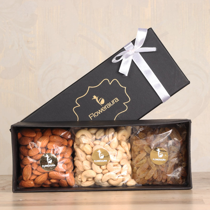 All in one dry fruit gift box