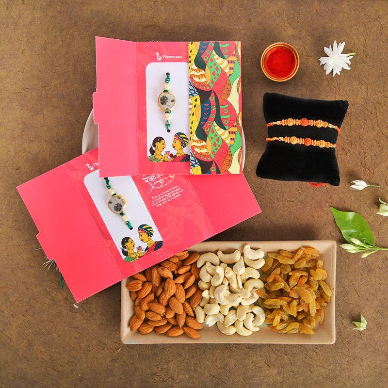 Healthy Rakhi Delight Combo