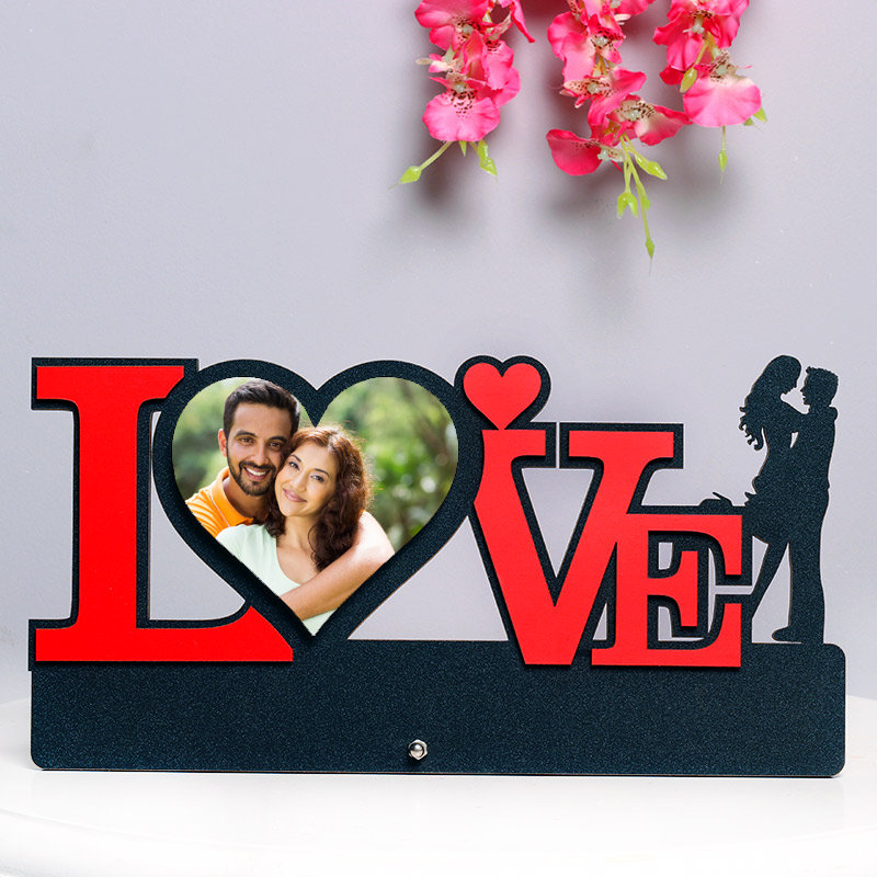 Love Personalised Photo Frame