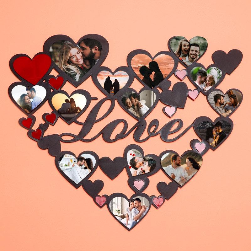 Heart N Love Photo Wall Frame
