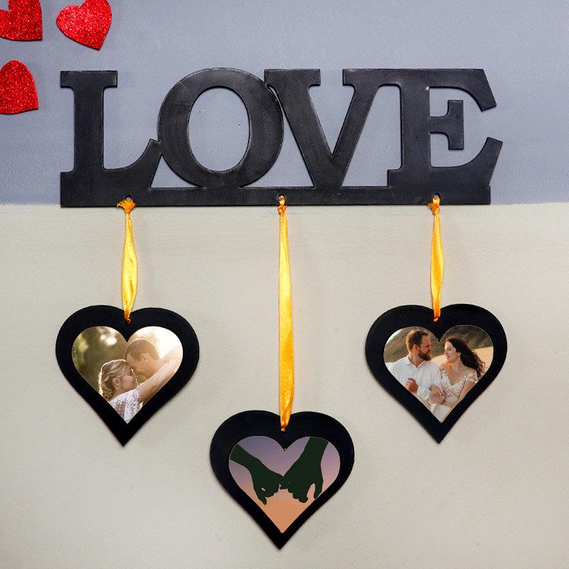 Heartfelt Love Photo Wall Frame