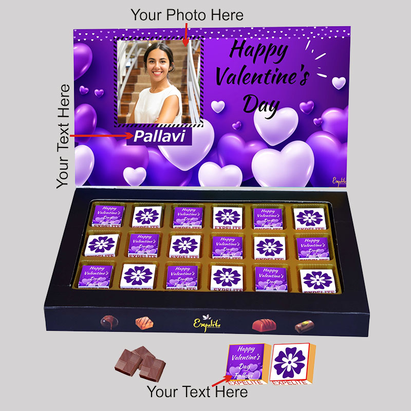 Heartfilled Custom Choco Box