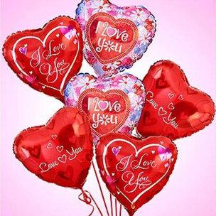 Heartshaped Balloons