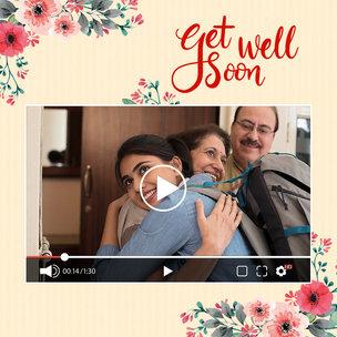 Personalised Get Well Soon Video