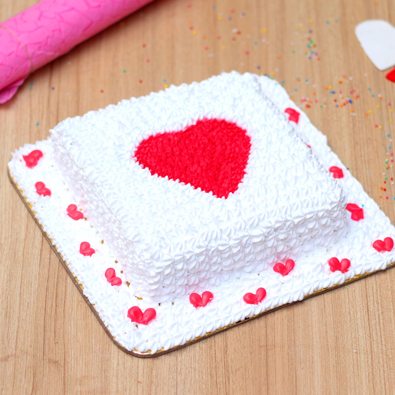 Hearty Emotions Cake - A Love Cake