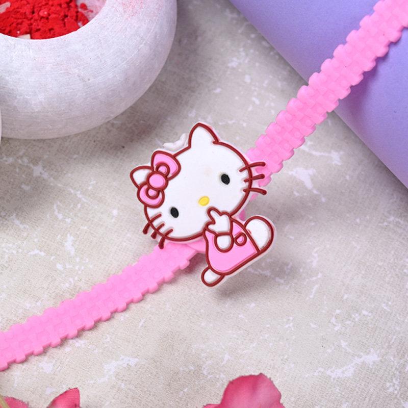 Hello Kitty Rakhi - One Cartoon Rakhi