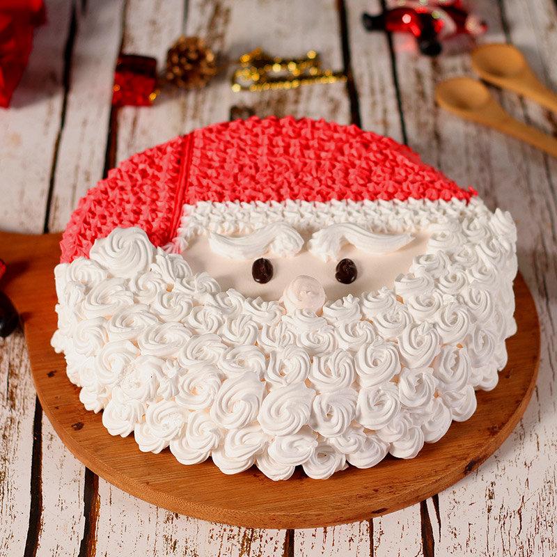 Cream Cake for Christmas