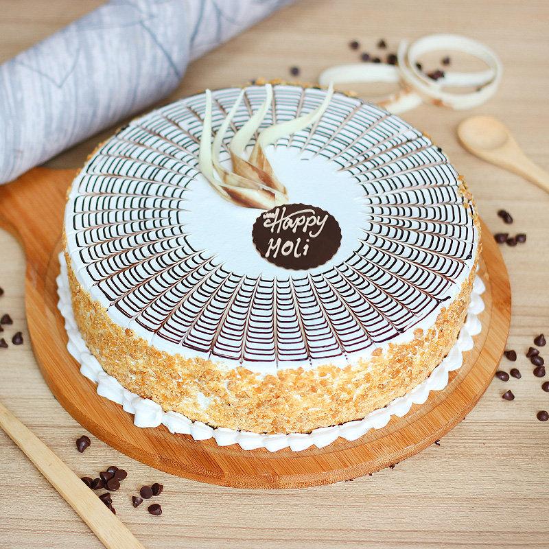 Holi Butterscotch Cake