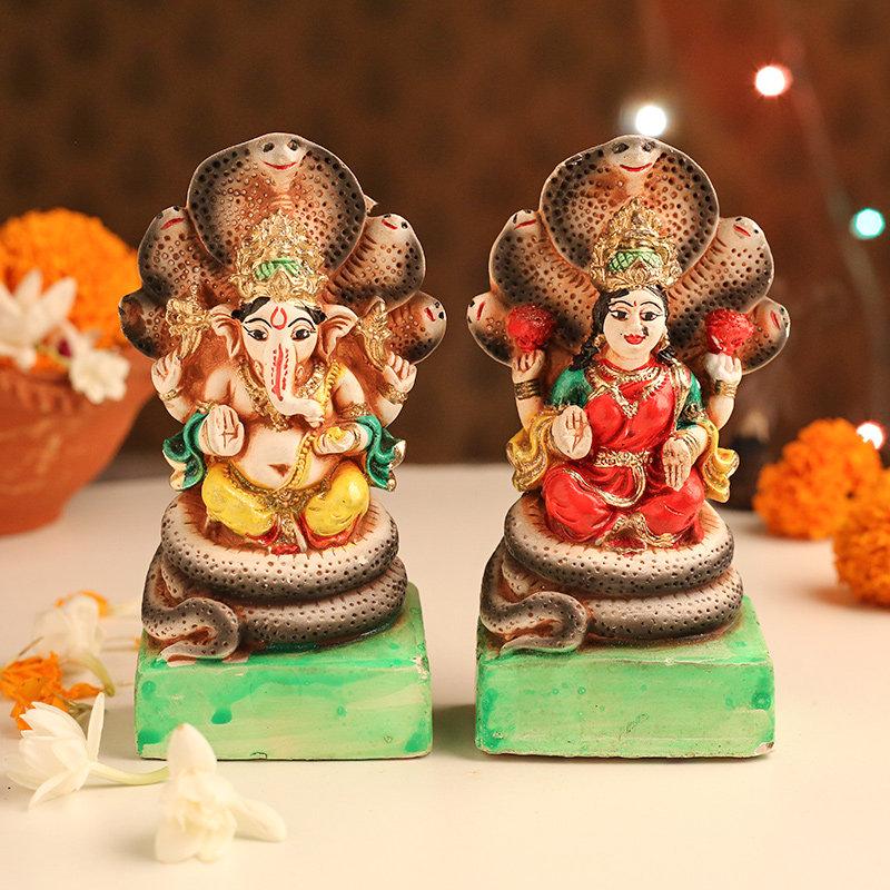 Holy Ganesha Laxmi Idol