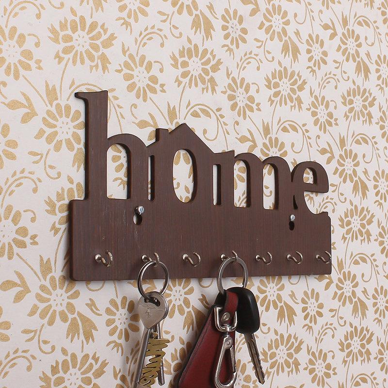 Home Wood Key Holder