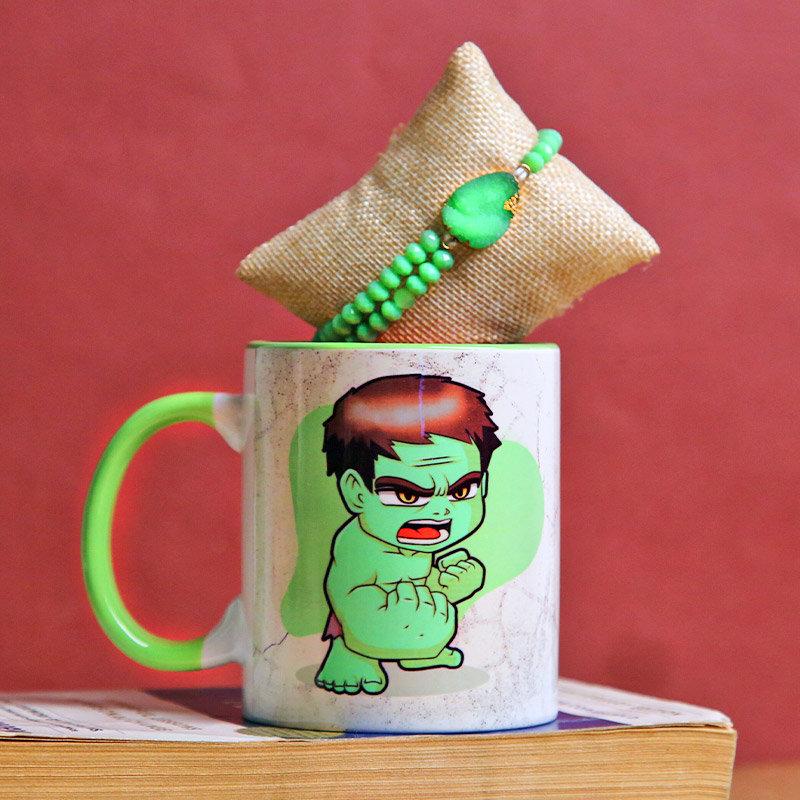 Hulk Mug Rakhi Pack