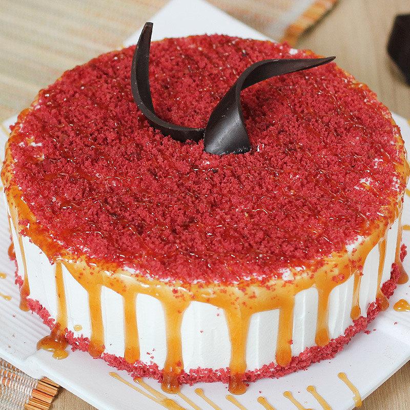 Online Velvety Affair Cake Delivery