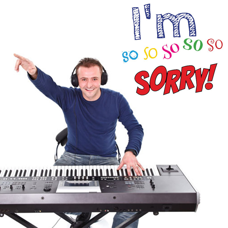 I am Sorry With Piano Song