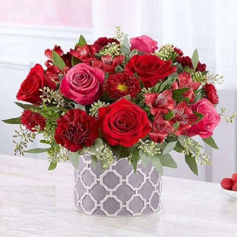 I Love You Embossed Roses