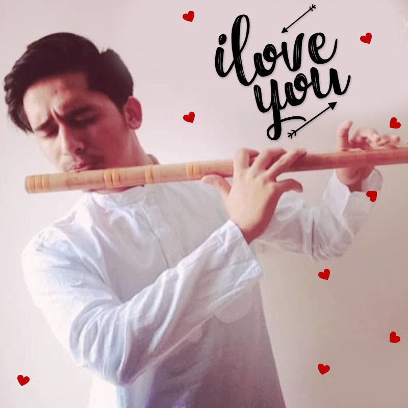 Express Your Love With I Love You Flute Song