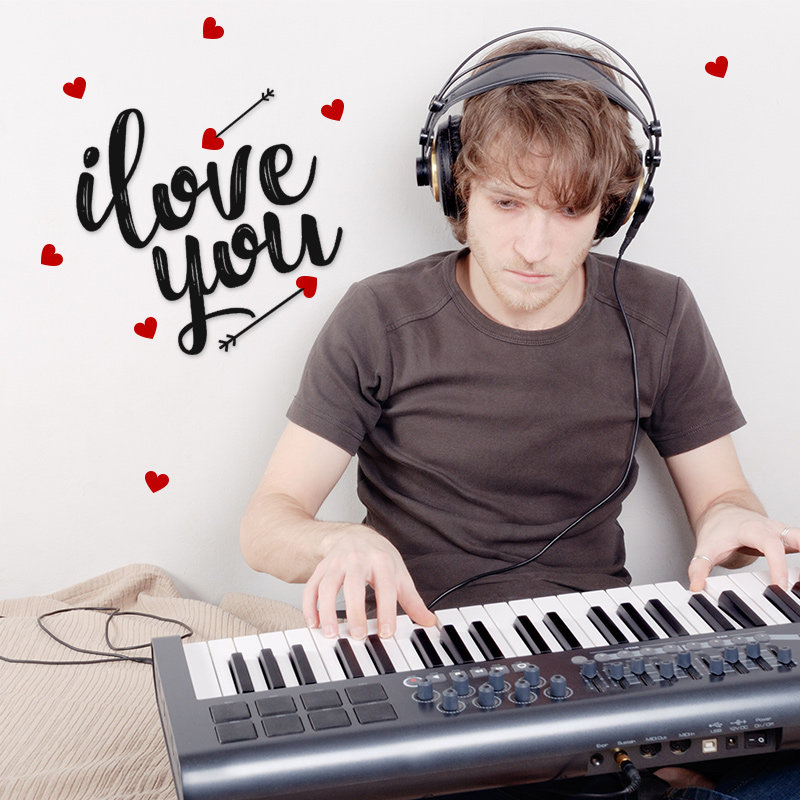 Say I Love You With a Romantic Piano Song