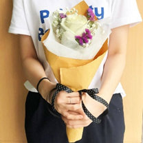 White Rose with Fillers Bouquet