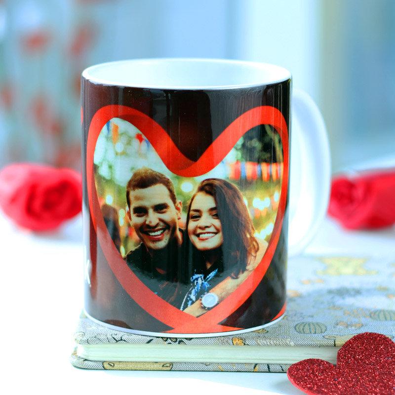 Valentine Couple Photo Mug Gift