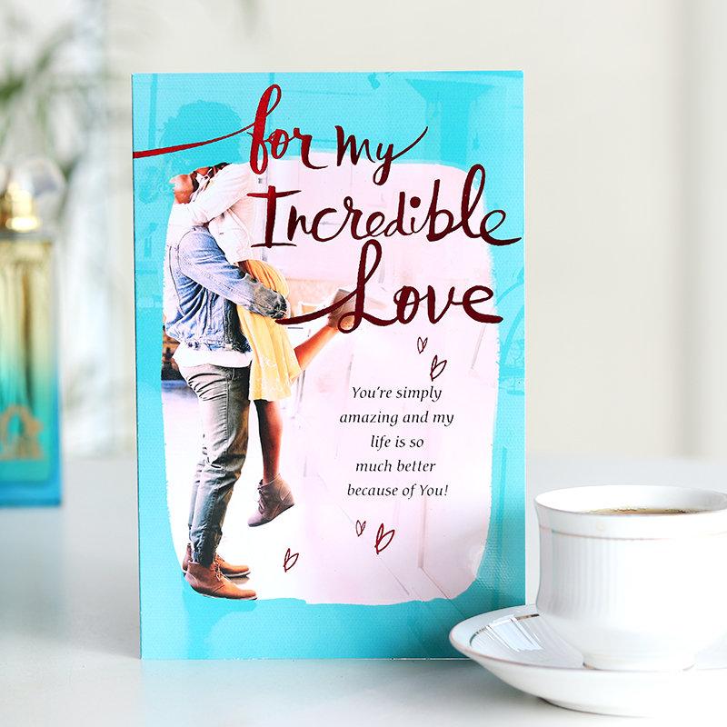 Incredible Love Valentine Card