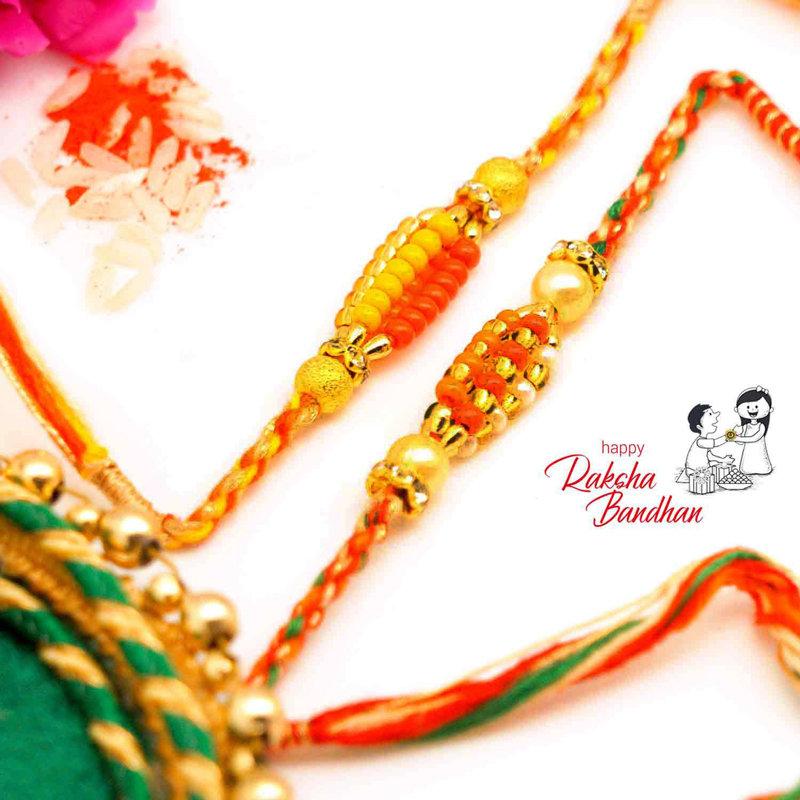 Intricate Design Duo Rakhi