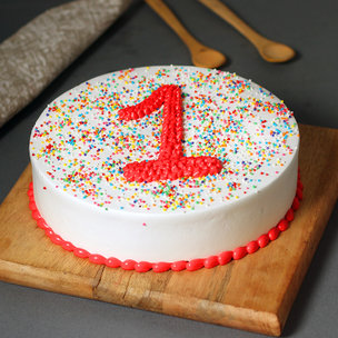 Joyous Firsts Anniversary Cake