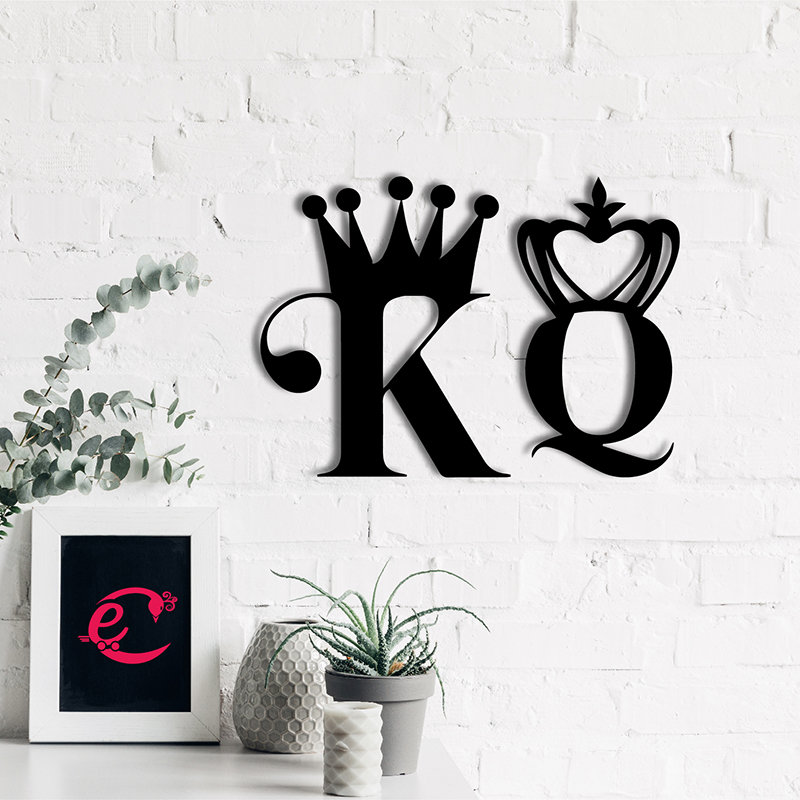 K N Q Wall Plaque
