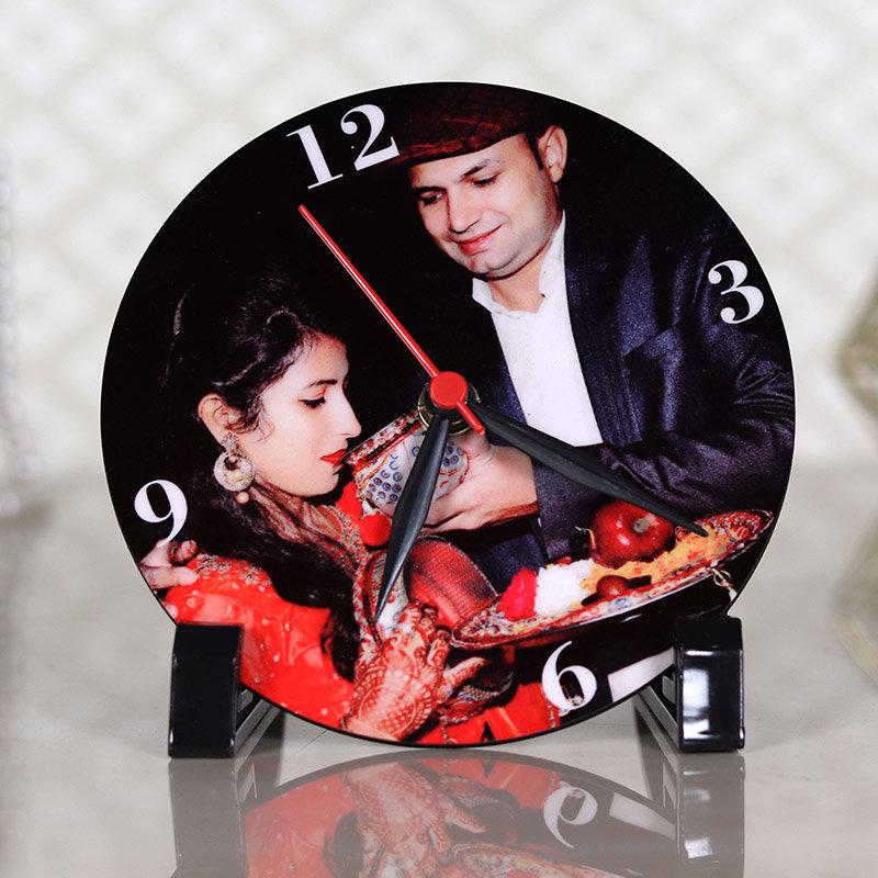 Karwa Chauth Photo Clock