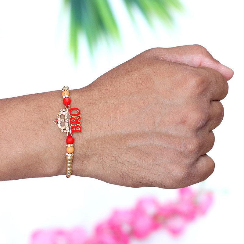 Metal Rakhi - Rakhi Gifts for Brother Online