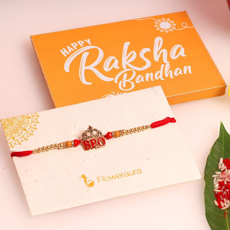 Product in King Bro Metal Rakhi - Rakhi Gifts for Brother Online