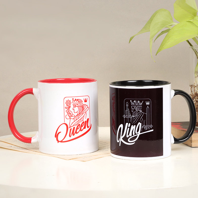 King Queen Mugs