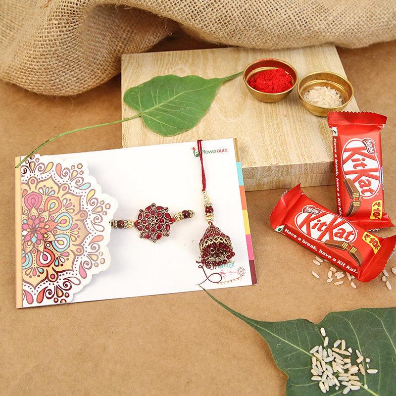 KitKat Duo Rakhi Combo