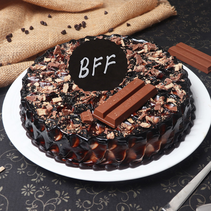 The Smooth Friends Cake