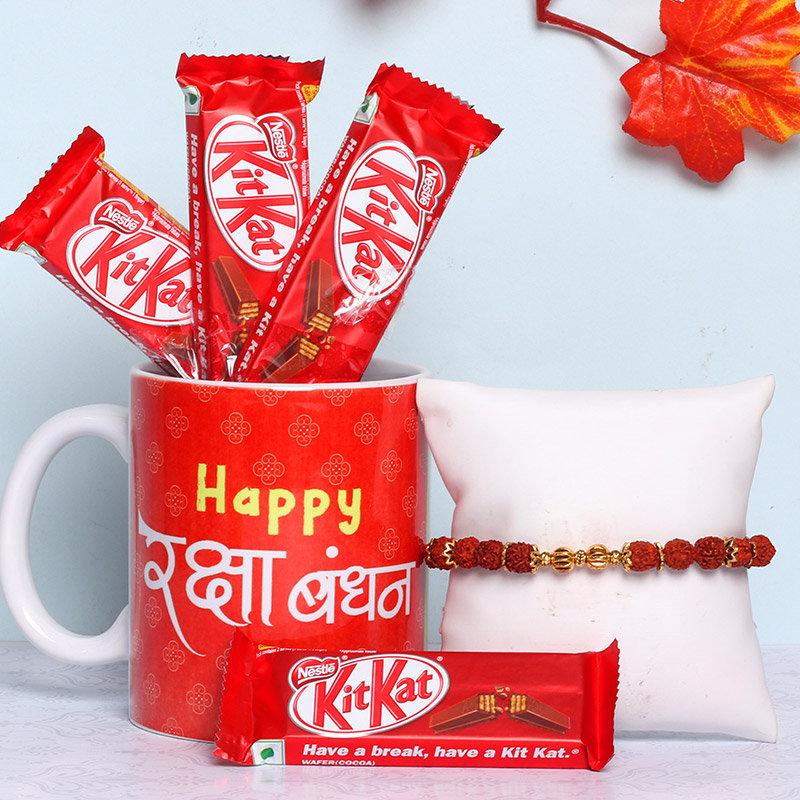 Kitkat Rakhi Combo