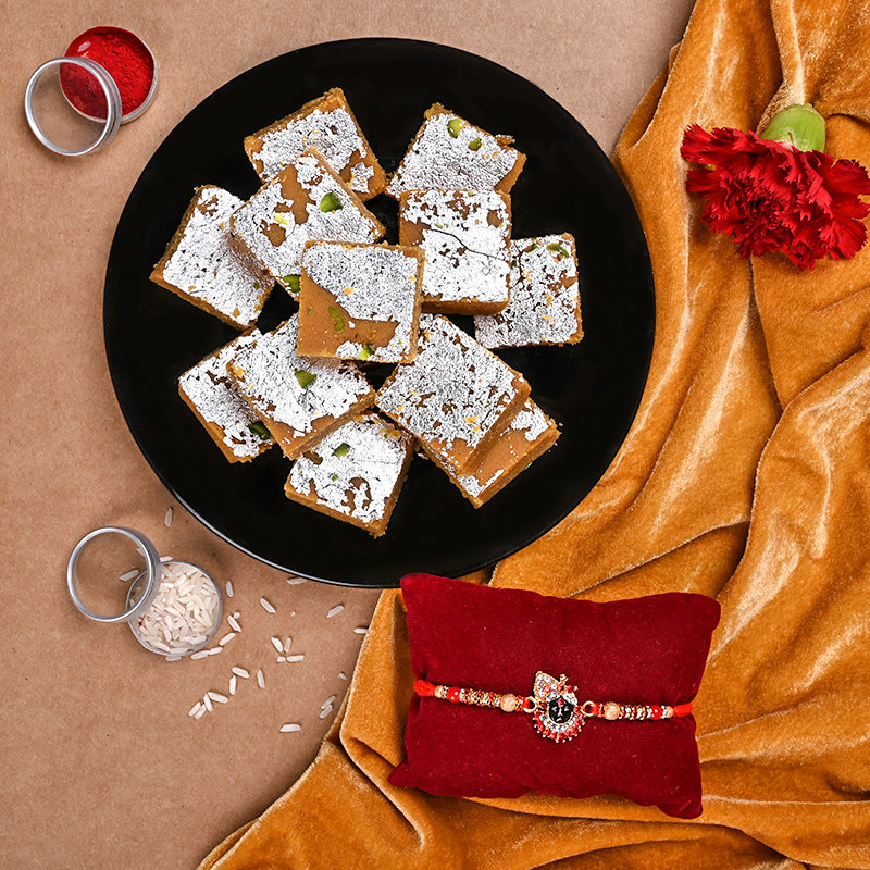 Krishna Rakhi With Sweet Combo