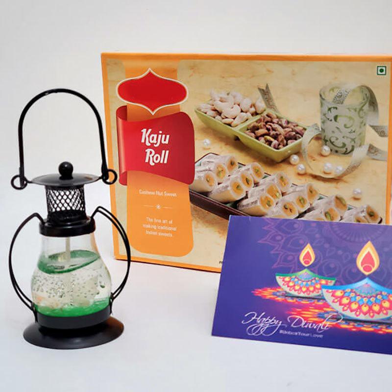 Lantern Kaju Roll Diwali Combo