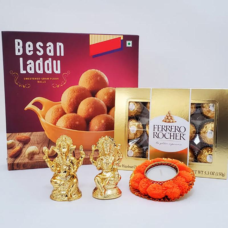 Laxmi Ganesh Diwali Blessings