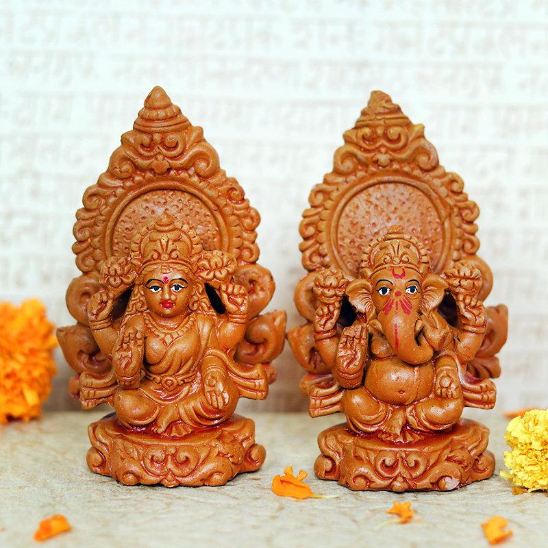 Laxmi Vinayaka Idol Set